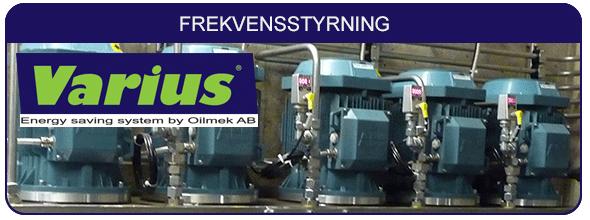 Varius frekvensstyrning Oilmek AB